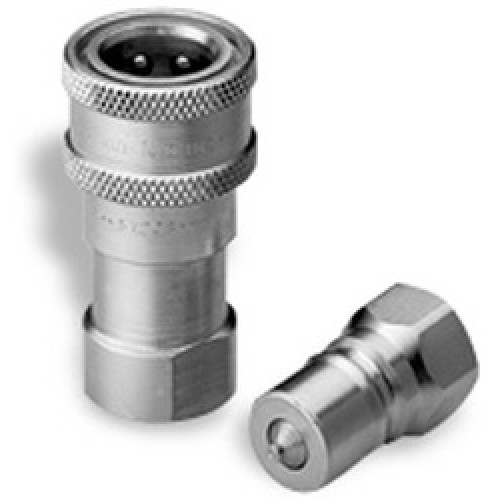 Snap tite quick disconnect coupling lian ee hydraulics